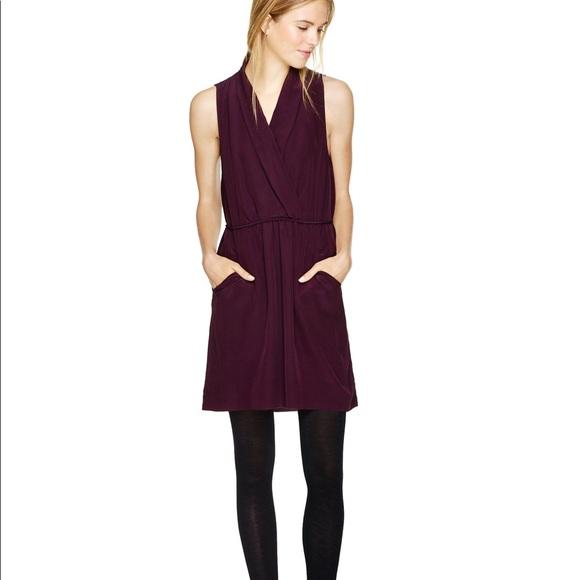 Aritzia Wilfred Velvet Sabine Dress
